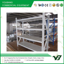 Hot sell cheap price white color 4 layer warehouse tire rack for sale with plate, storage rack (YB-WR-C24)