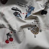 poly cotton shirt fabric