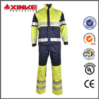 EN ISO 11611 fire resistant heated coveralls