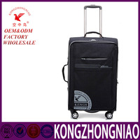 Luggage trolley bag , soft travel luggage set wheeled suitcase carry bags for men and women