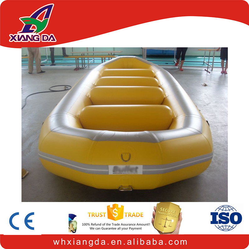 inflatable river whitewater rafting boat
