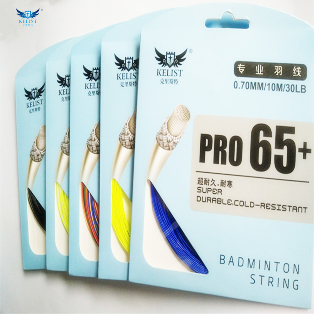KELIST brand new arrived super durable cold-resistant badminton string,best for the cold regions