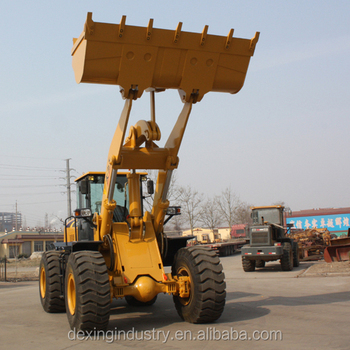 Competitive Price ZL50F 5 tons Wheel loader with famous engine