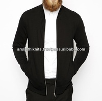 100% COTTON MENS FLEECE BOMBER JACKET