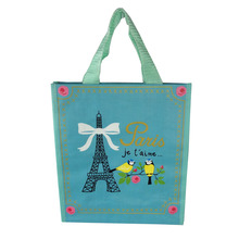 Recycled kids cute animal sleeping polypropylene feed pp woven Bag