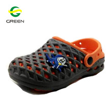 Greenshoe 2017 hot sale kids good quality lighting shoes EVA clogs garden shoes