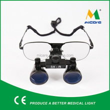 Metal frame medical magnifiers glass 3.0x surgical loupes