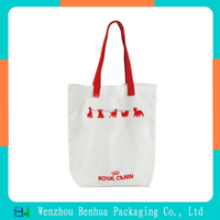 Eco-friendly quality custom cotton canvas hand bags