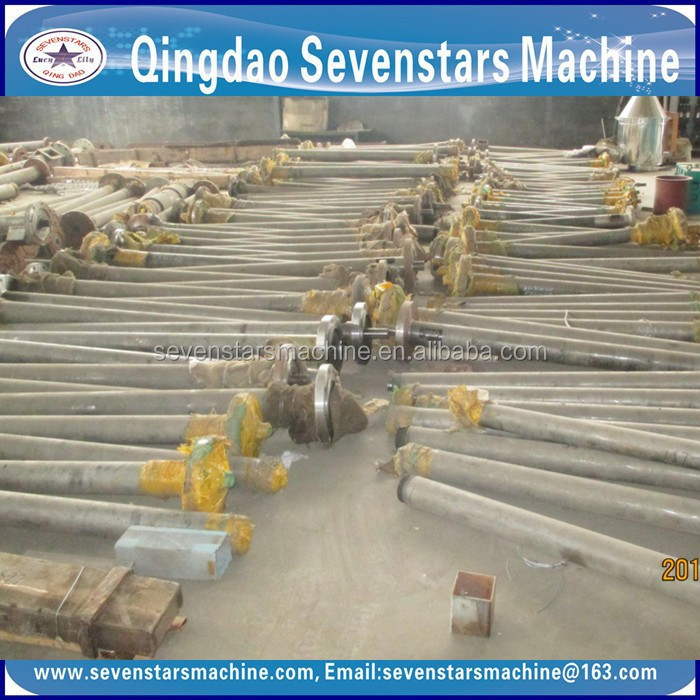 Transport tube the granular objects extrusion machine