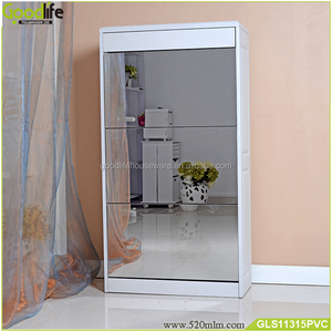 New Style famous mirror shoes cabinet USA factory in China