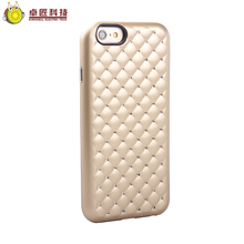 Fancy rhinestone diamond bling tpu pc phone case cover for iphone 6 for girl case diamond gold