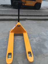 Small Mini Warehouse Equipment 2-3Ton Hand Hydraulic Pallet Truck with Nylon/PU Wheels for sale