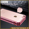 "2016 NEW 4.7"" 0.5MM Waterproof TPU PC Case Cover Transparent Electroplate Soft Custom TPU Case for iphone 6 6S"