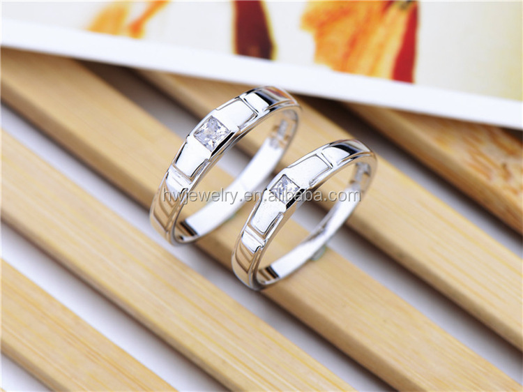 2014 couple rings made in china,925 sun silver ring