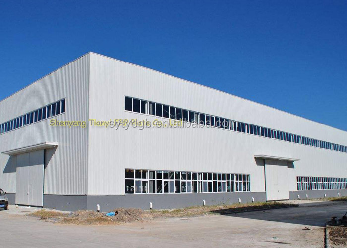 multi-floor industrial prefabricated warehouse building
