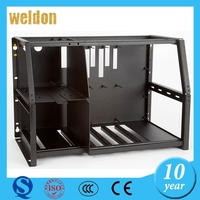 WELDON custom sheet metal work & cutting &press& bending computer case machine case