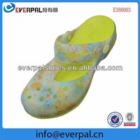 garden colorful cheap clogs for women