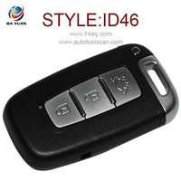 universal car remote key for hyundai IX35 3 button flip remote key 433MHZ 46 chip AK020006