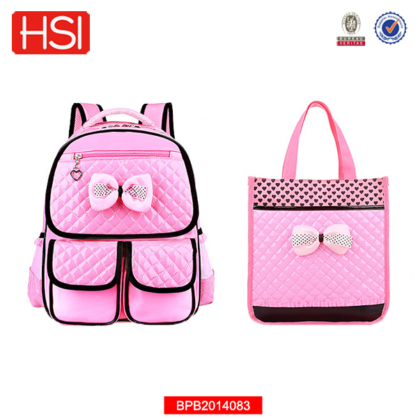 Large capacity casual leather cute school lunch bag
