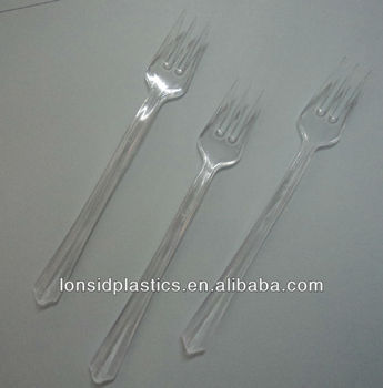 (new products) Light Weight Small Disposable Plastic taster forks