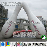 AliToys! 2013 hot selling and factory price inflatable models/kids bowling bowl models/inflatable bowling game