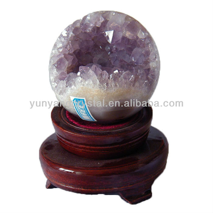 Natural Purple Amethyst Geode For Sale