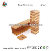 wooden games for kids Janga wooden box