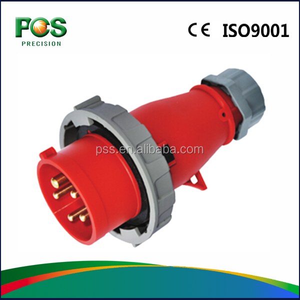 TYPE P-V High Quality Manufacture IP67 Mennekes industrial plug
