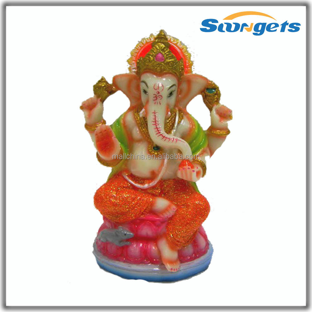 1054W Ganesh Resin India Idol