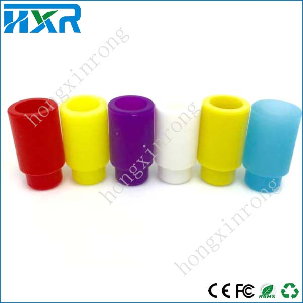 Cheapest ecigs test tips disposable silicone 510 silicone drip tip