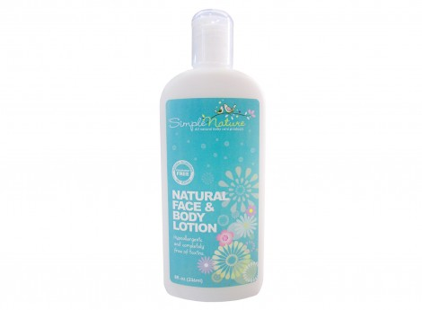 Simple Nature Natural Fragrance Free Lotion