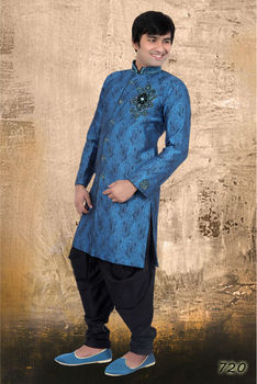 Blackish Blue Kurta Pajama
