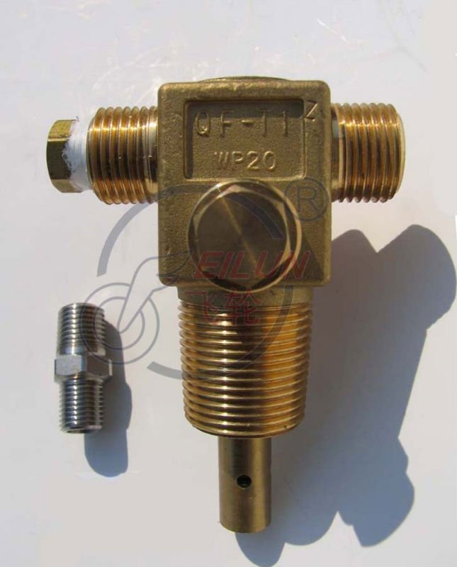 QF-T1Z Brass Cylinder CNG Valve for Vehicle(20MPa CNG Auto parts )