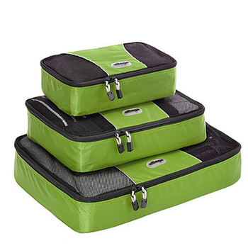 TravelWise Packing Cube System - Durable 3 Piece Weekender Set Luggage Packing Travel Organizers