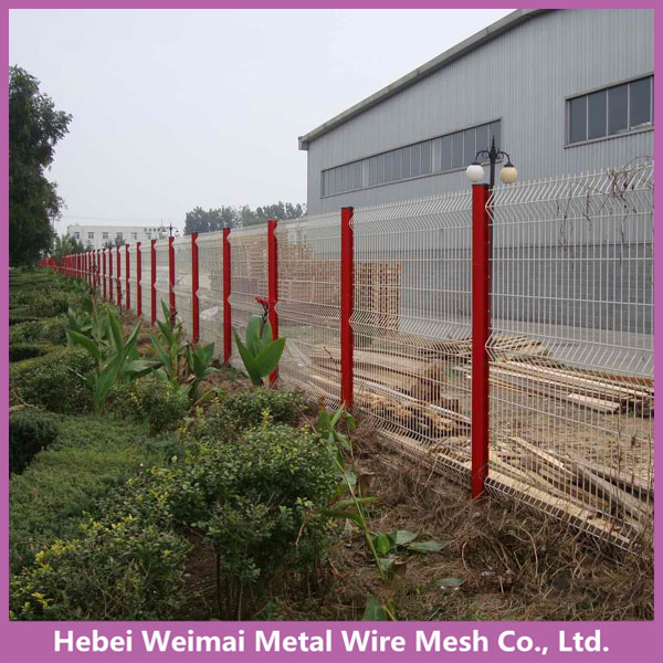 3 folds welded steel wire mesh fence with best price