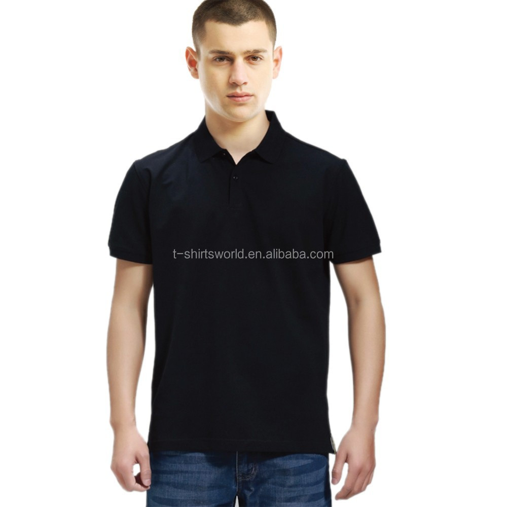 Wholesale Short sleeved Cotton Pique Polo Shirt Available with Your Own LOGO design in Small MOQ for Unisex