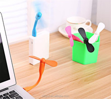 Mini Portable USB Fans For Power Bank And Charger Or Other USB Devices