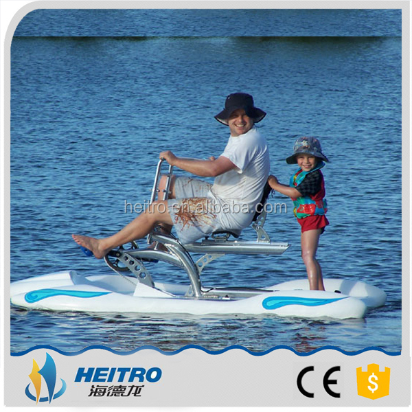 HEITRO 2016 Best Sea Sports rides park equipment 1 person water bike