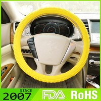 Lfgb Certified Custom Design Oem Service Novelty Silicone Sun Protection Car Steering Wheel Covers
