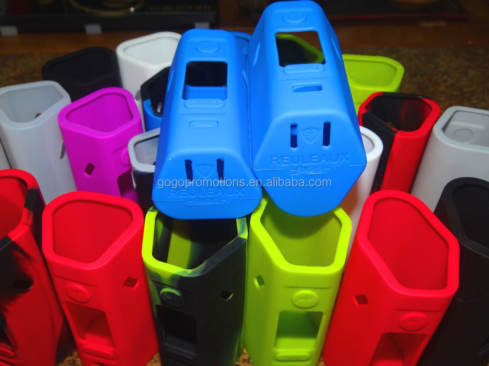 Reuleaux RX2/3 silicone case E Cig RX2 and RX3 Silicone skin case in stock cheap China wholesale ecig ego silicone case