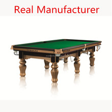 Economic Non-used Waterproof Pool Snooker Table as Valley
