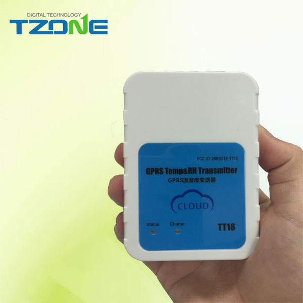 SMS temperature alarm sensor wireless communication and big battery for short or long haul