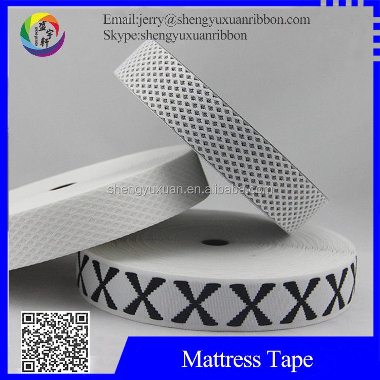 High quality Knitted mattress binding tape with 40mm(MT-W26)