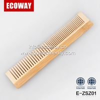 wholesale cheap hotel disposable hair comb bamboo travel men's comb