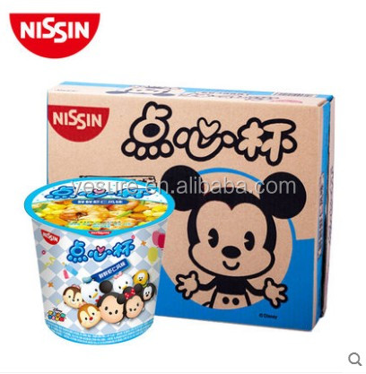 42g Net weight Mini Nissin cup noodles for childen instant noodle Shrimp flavor 12 pcs per carton