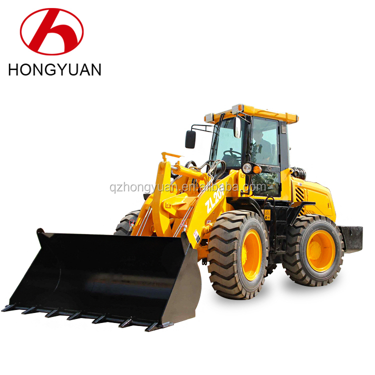 China Supplier Qingzhou Hongyuan ZL20 Mini Wheel Loader With 16/70-20 Tyre For Sale/mini wheel loader china