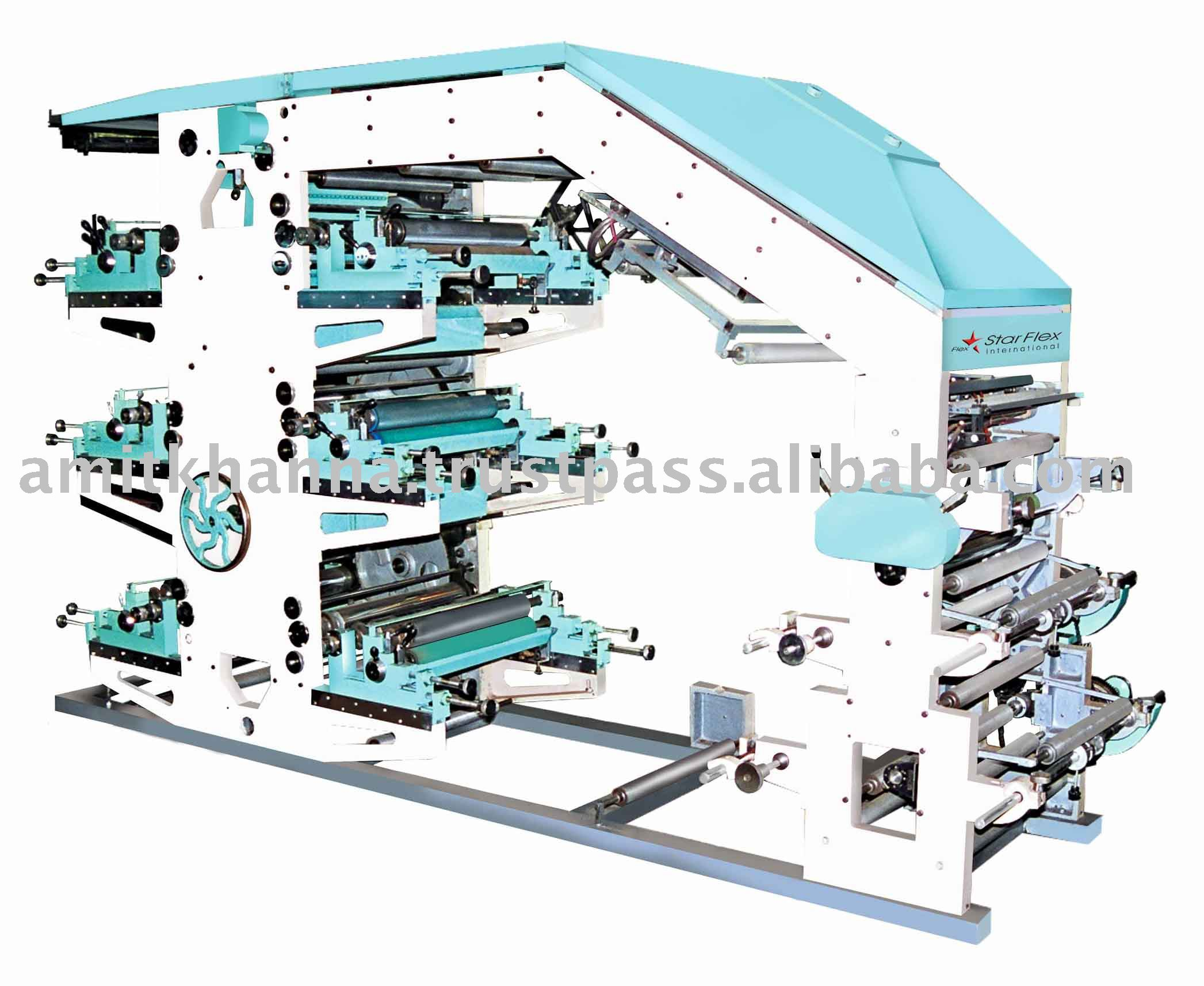 Color Flexographic Printing Machine