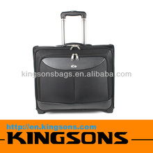 Leather Travel Trolley Bag With Trolley High Quality