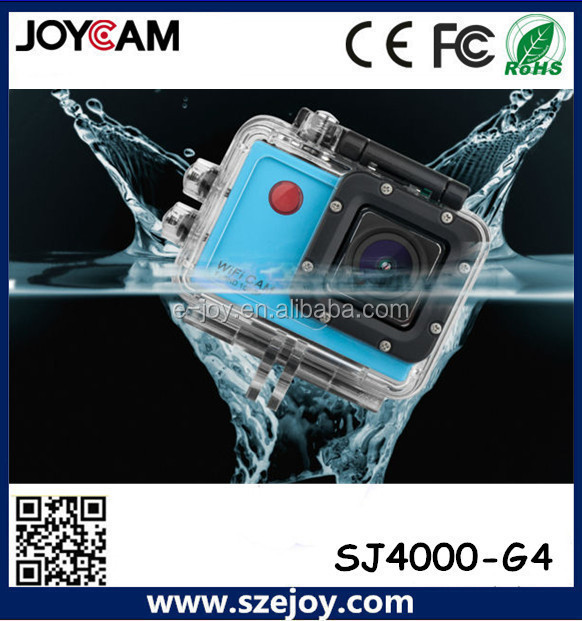 Full HD waterproof IR Remote control Super slim sport camera G4