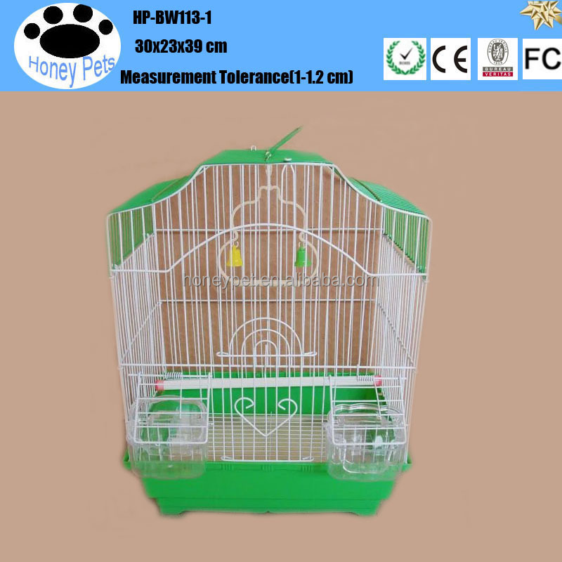 HP-BW113-1 metal chrome wire pet bird cage in pakistan